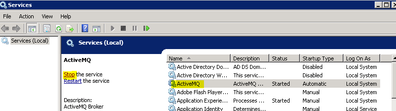 Autopsy User Documentation: Install and Configure ActiveMQ