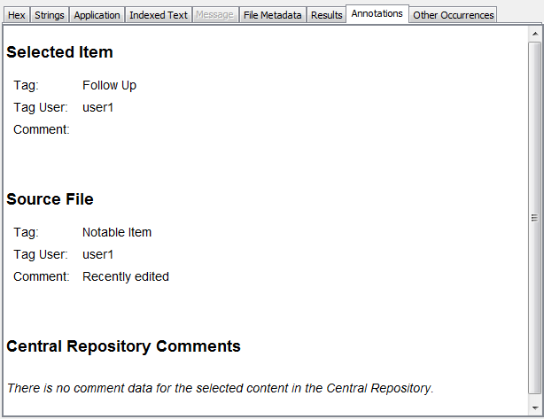 Autopsy User Documentation: Content Viewer